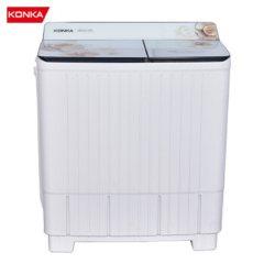 康佳(KONKA)10公斤 半自动波轮洗衣机 双桶双缸 脱水甩干 立体水流 XPB100-339S