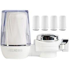 美菱(MeiLing)家用水龙头前置净水机厨房自来水前置过滤器 一机四芯套装MLT-OXD 白色 1