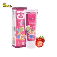 啵乐乐幼儿啫喱牙膏10无 草莓味