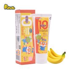 啵乐乐幼儿啫喱牙膏10无 香蕉味