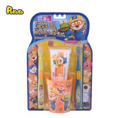 啵乐乐儿童牙齿护理套盒(三段)(三岁以上适用)